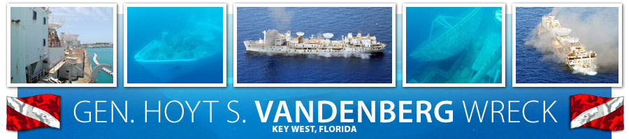 Gen. Hoyt S. Vandenberg Wreck — Key West, Florida
